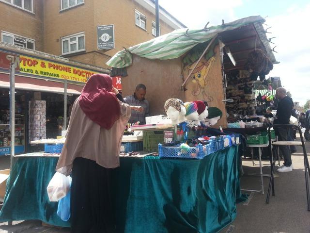 Headgears on East Street Market 1