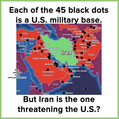 US bases in the Middle East