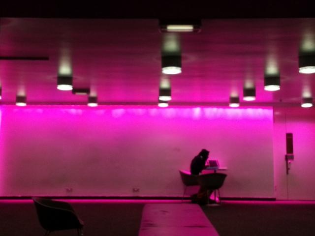 Purple at the Barbican