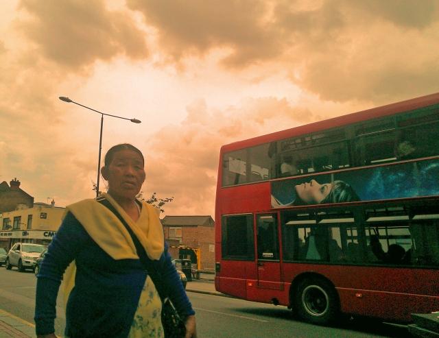 Nepali woman in Plumstead