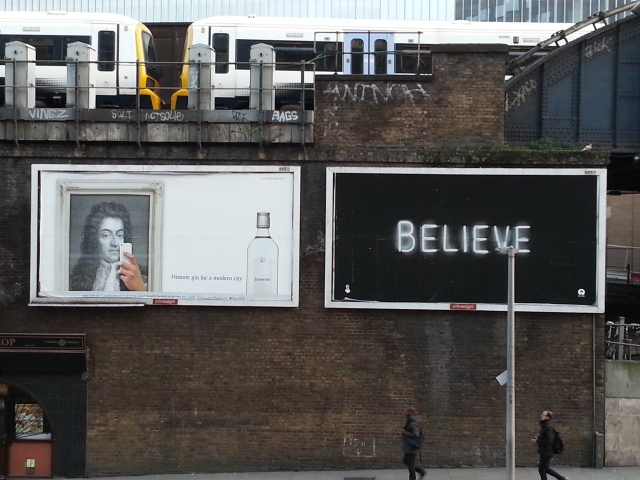 Believe (Waterloo Station, London)