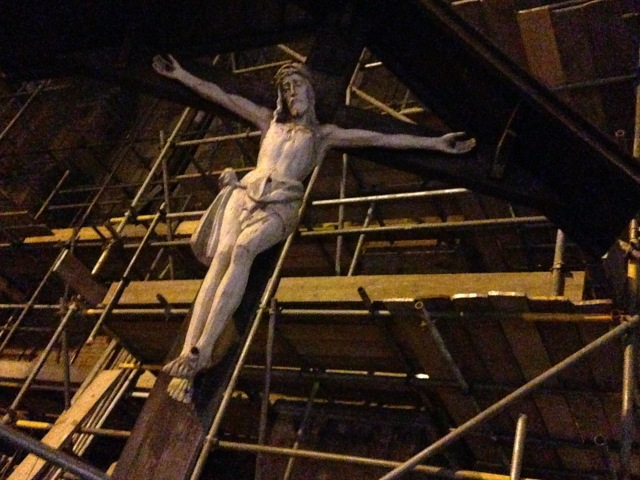 Jesus Christ and the building site No1