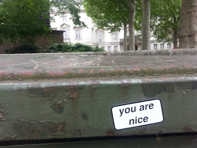You are nice