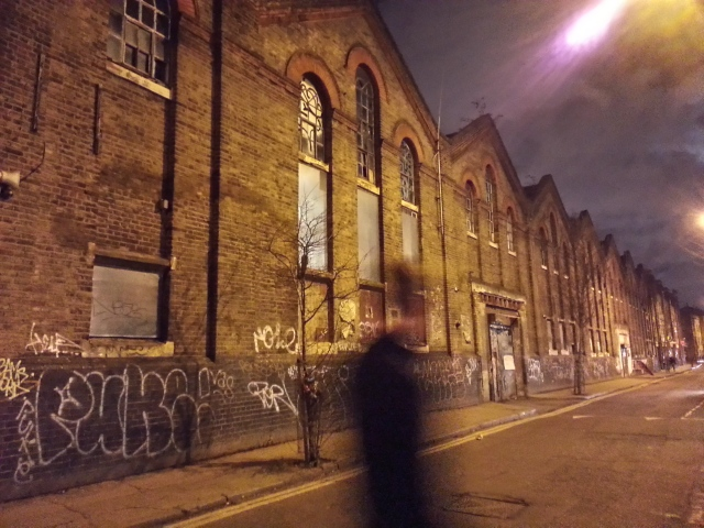 Ghost in Quaker Street, near Brick Lane