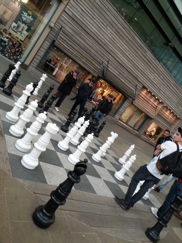 Game of chess at Stratford
