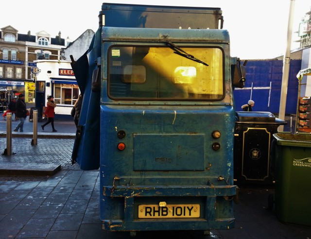 Woolwich Market, Old Van (1)